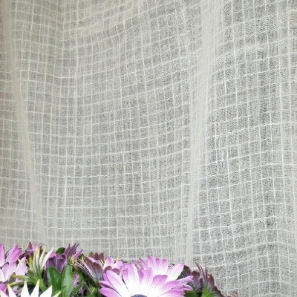画像1: カーテン ガーゼ H1600(腰窓用) スクエア