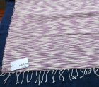 さらに詳しく2: プラネッタのヘンプ&コットンのラグ(小)手織り草木染め