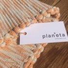さらに詳しく1: プラネッタのヘンプ&コットンのラグ(小)手織り草木染め