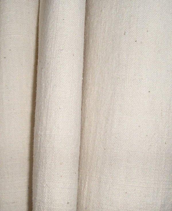 画像1: カーテン UVカット率92.4%  H2300(高窓用) 土布