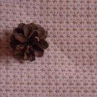 さらに詳しく1: (N-12) 生成+茶綿クロス 綾織布 布売り
